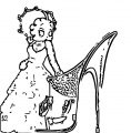 Betty Boop We Coloring Page 061