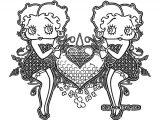 Betty Boop We Coloring Page 064