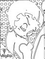 Betty Boop We Coloring Page 074