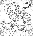 Betty Boop We Coloring Page 102