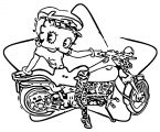 Betty Boop We Coloring Page 109