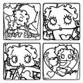 Betty Boop We Coloring Page 123
