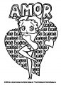 Betty Boop We Coloring Page 127
