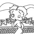 Betty Boop We Coloring Page 134