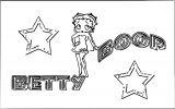 Betty Boop We Coloring Page 144