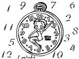Betty Boop We Coloring Page 165