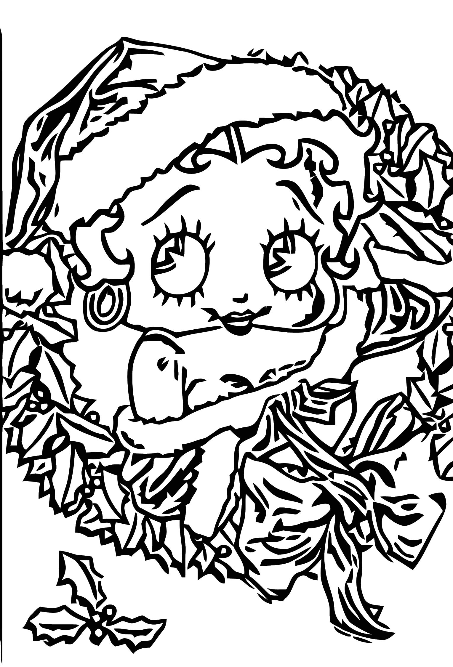Betty Boop We Coloring Page 178