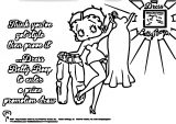 Betty Boop We Coloring Page 184