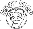 Betty Boop We Coloring Page 189