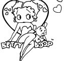 Betty Boop We Coloring Page 201