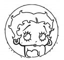 Betty Boop We Coloring Page 203