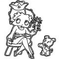 Betty Boop We Coloring Page 219
