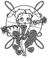 Betty Boop We Coloring Page 223