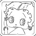 Betty Boop We Coloring Page 224