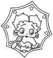 Betty Boop We Coloring Page 227