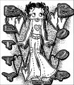 Betty Boop We Coloring Page 254