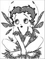 Betty Boop We Coloring Page 260