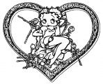 Betty Boop We Coloring Page 261