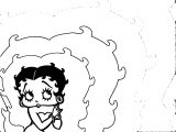 Betty Boop We Coloring Page 279
