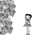 Betty Boop We Coloring Page 283