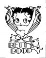 Betty Boop We Coloring Page 305
