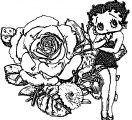 Betty Boop We Coloring Page 306