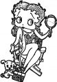Betty Boop We Coloring Page 310