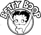 Betty Boop We Coloring Page 315