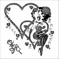 Betty Boop We Coloring Page 333