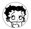 Betty Boop We Coloring Page 341