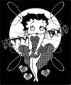 Betty Boop We Coloring Page 363
