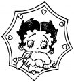 Betty Boop We Coloring Page 368