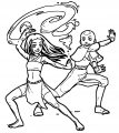 COMMISSION Katara And Aang Konp Avatar Aang Coloring Page