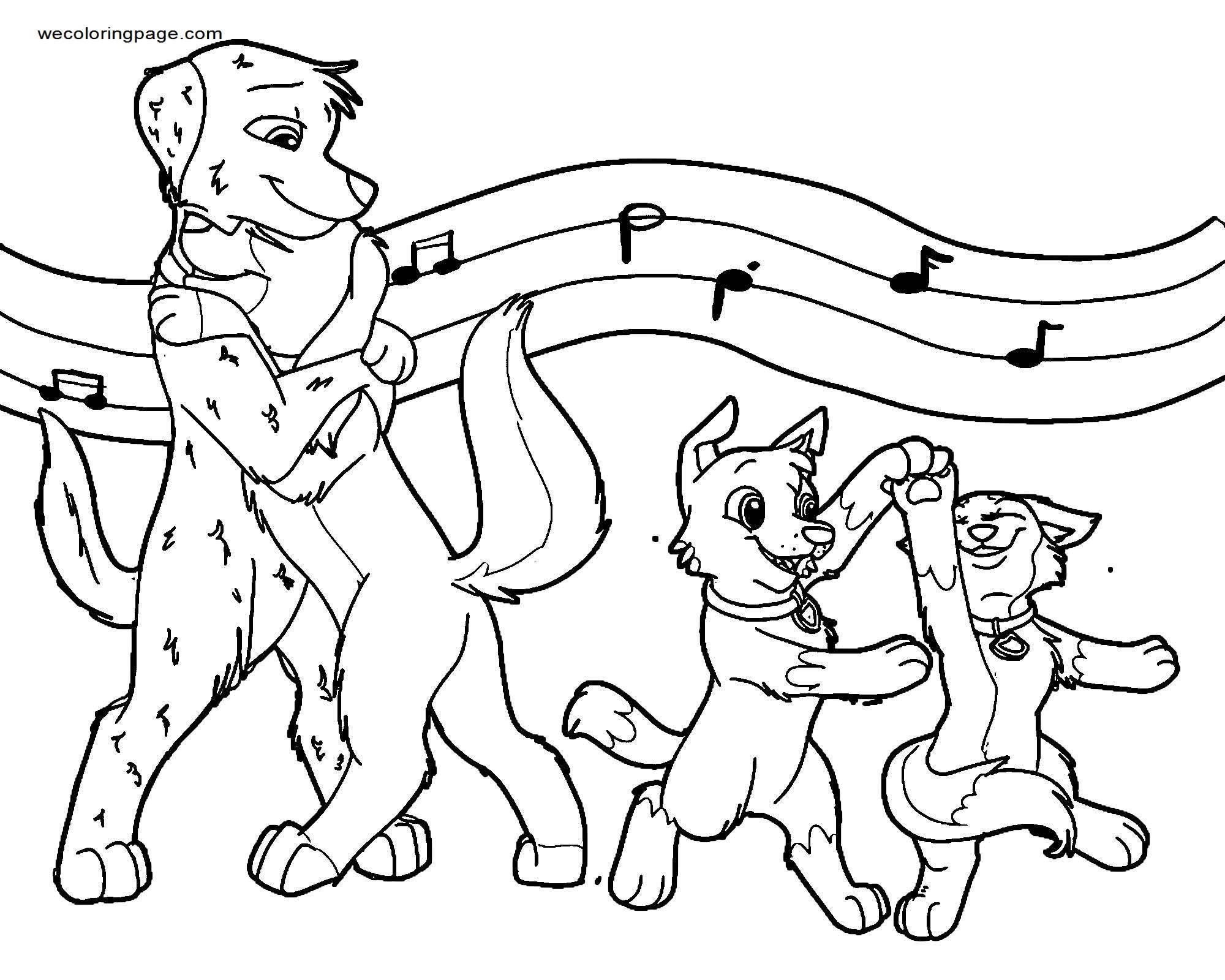 Can I Have This Dance Coloring Page