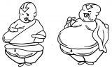 Chub Aang Weebie Dmehv Avatar Aang Coloring Page