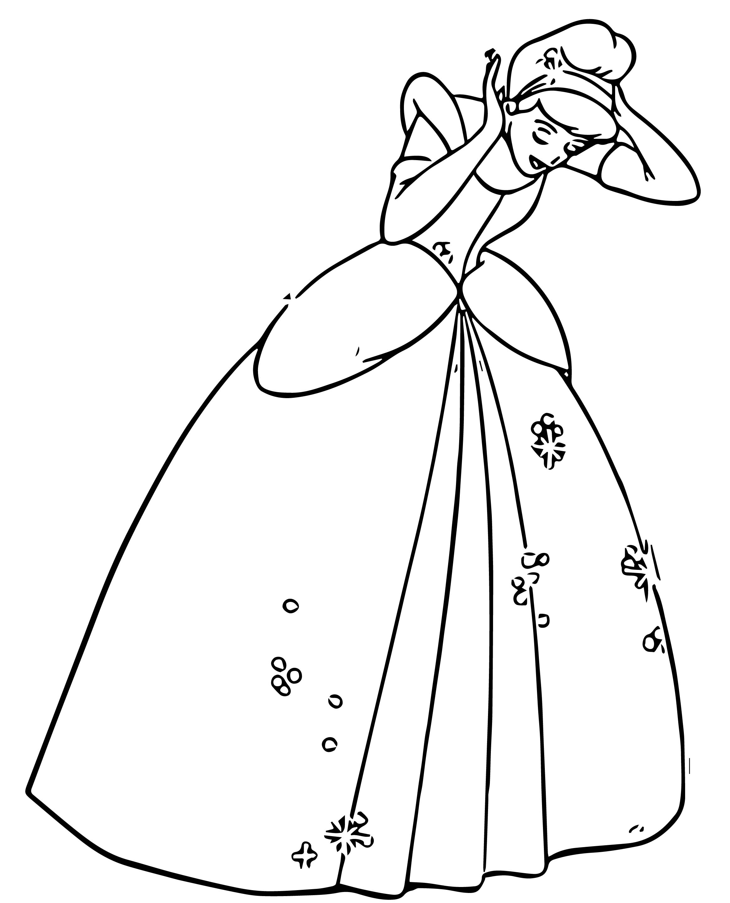 Cinderella Coloring Pages 104