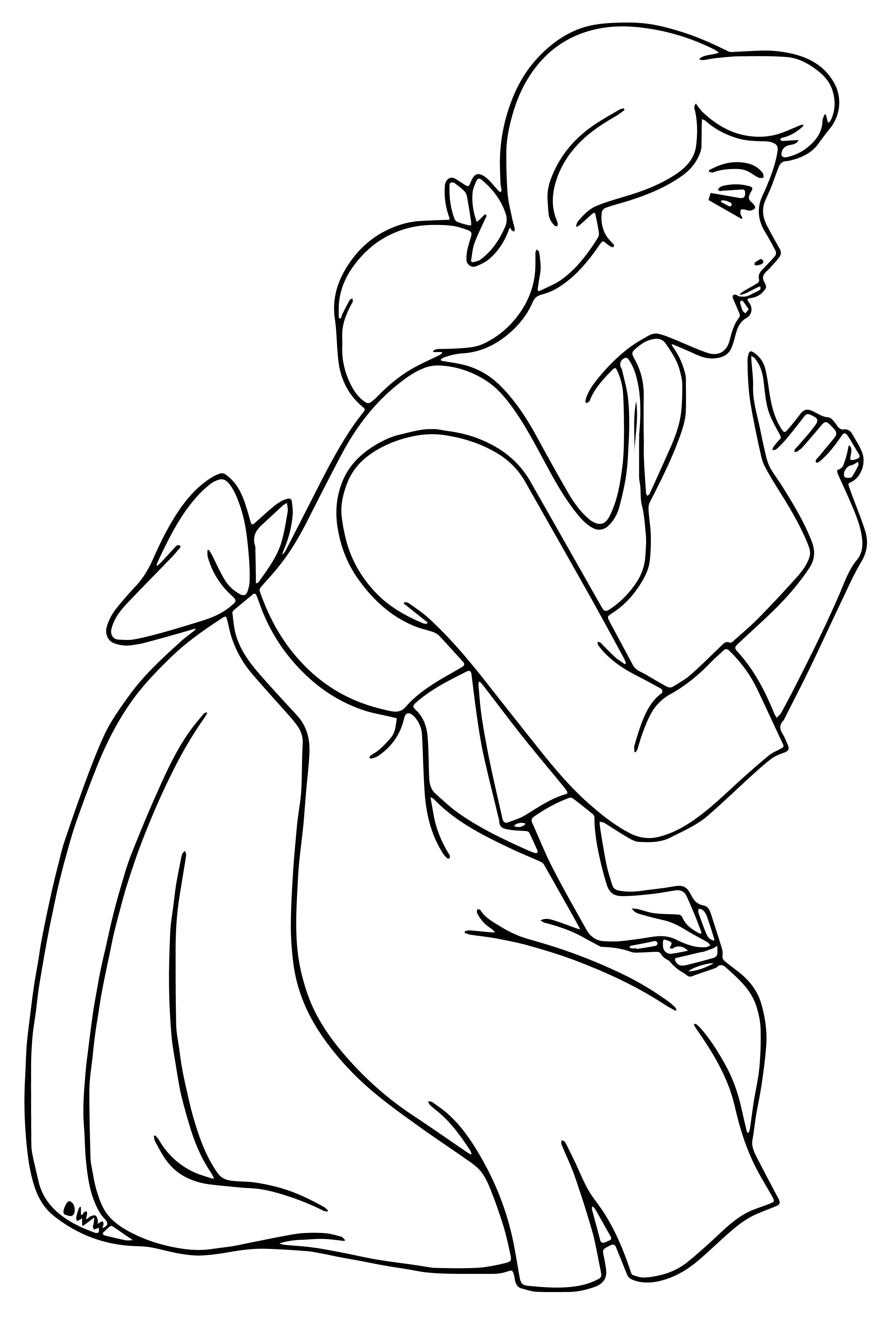 Cinderella Coloring Pages 11