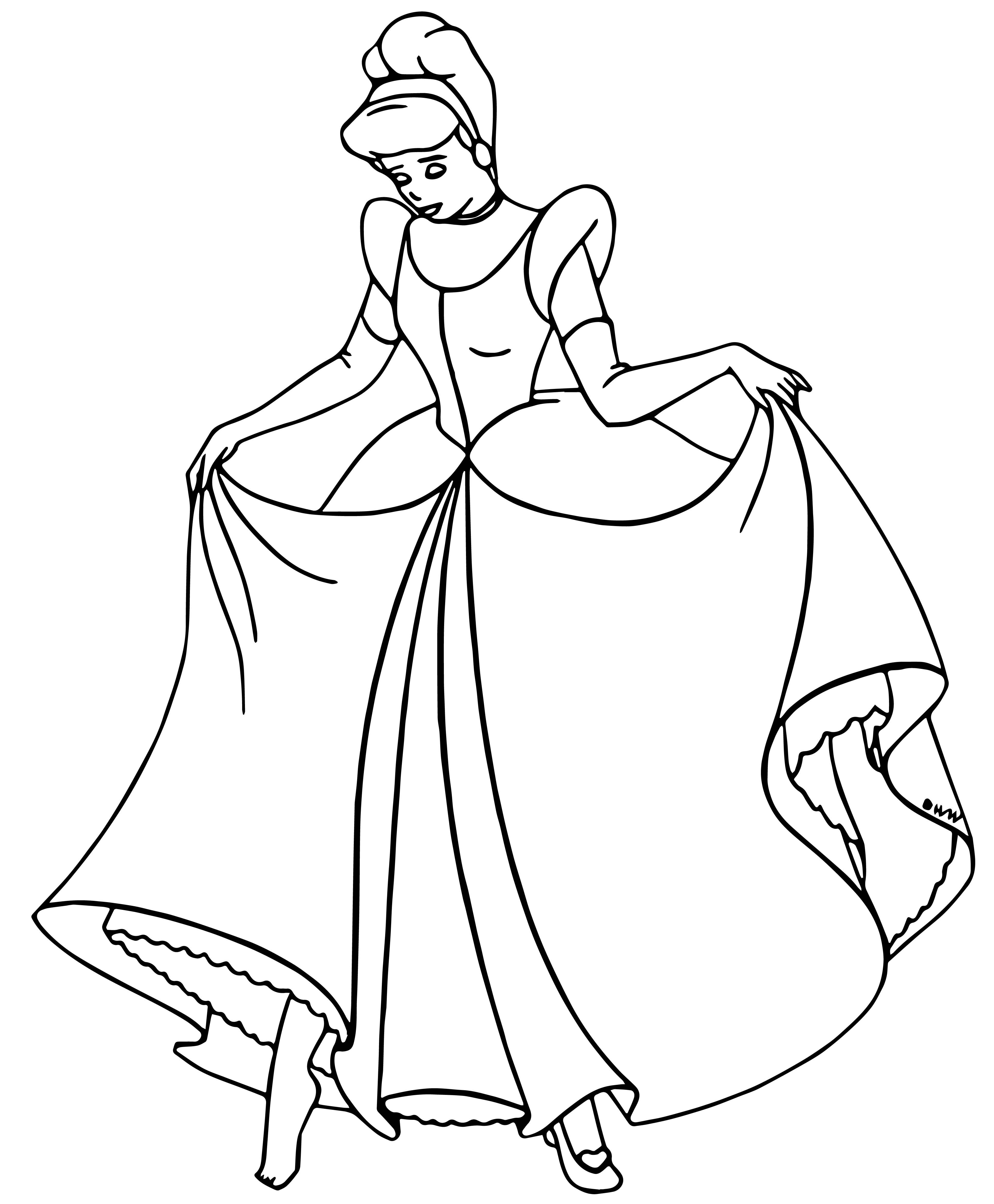 Cinderella Coloring Pages 115 Wecoloringpage Com