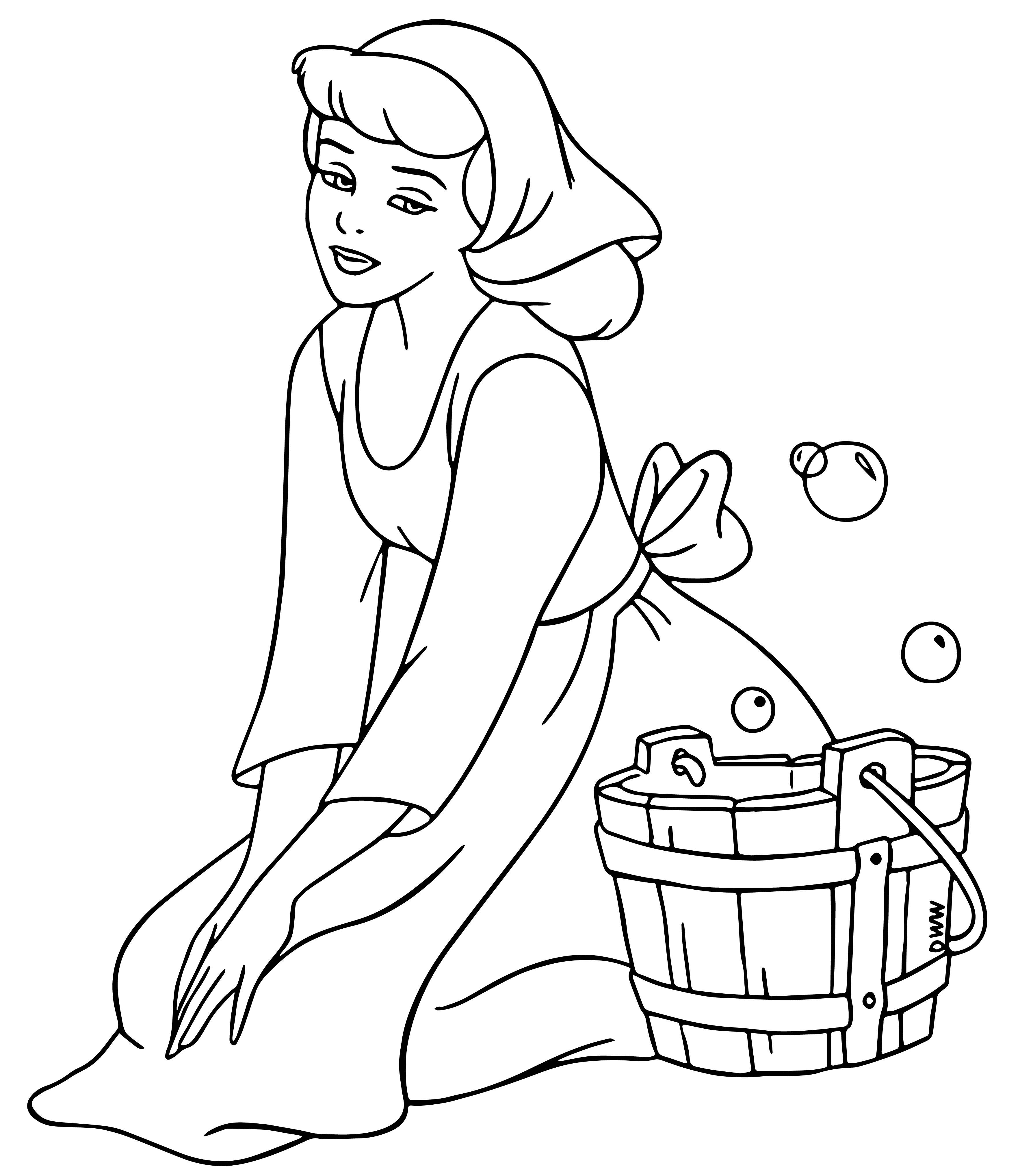 Cinderella Coloring Pages 20 Wecoloringpage Com