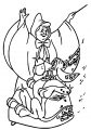 Cinderella Fairy Godmother Coloring Pages 16