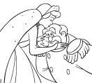 Cinderella King Coloring Page