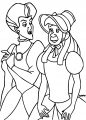 Cinderella Lady Tremaine Anastasia Drizella And Lucifer Coloring Pages 14