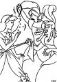 Cinderella Lady Tremaine Anastasia Drizella And Lucifer Coloring Pages 16