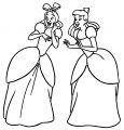 Cinderella Lady Tremaine Anastasia Drizella And Lucifer Coloring Pages 24
