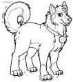 Commission Tundra Circus Cinnamon Coloring Page