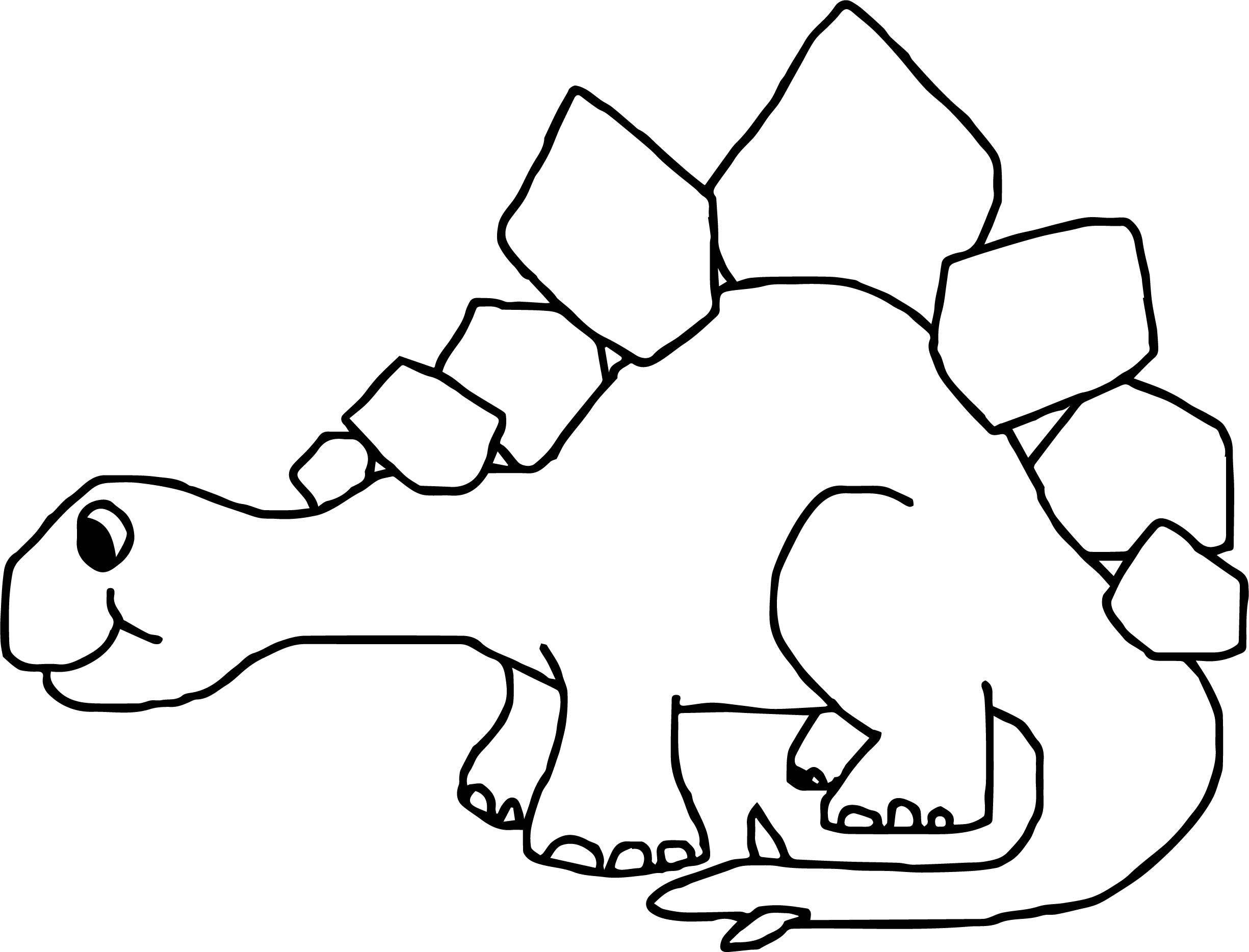 Dinosaur Wecoloringpage Coloring Page 061
