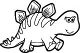 Dinosaur Wecoloringpage Coloring Page 064