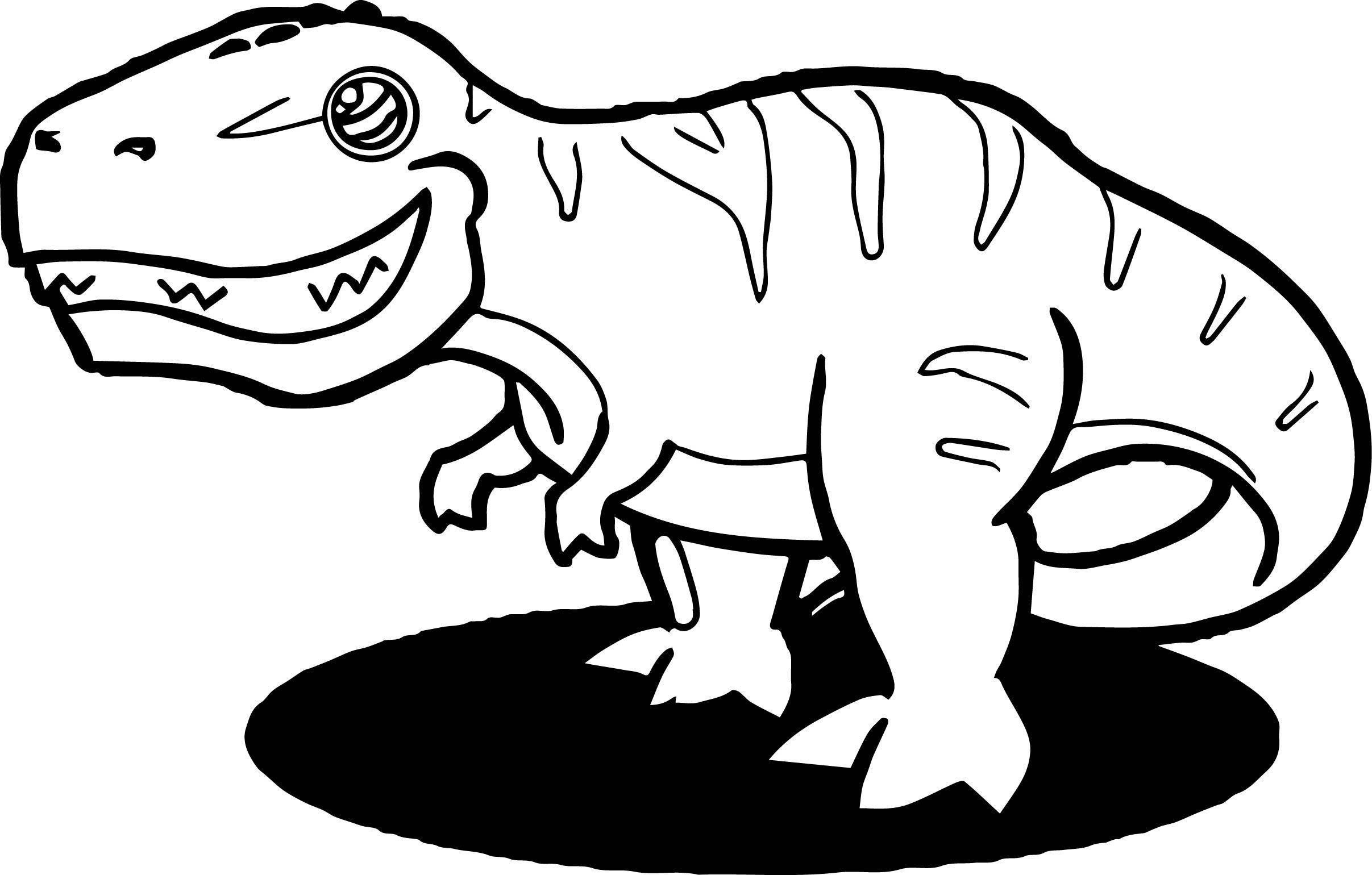 Dinosaur Wecoloringpage Coloring Page 091