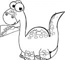 Dinosaur Wecoloringpage Coloring Page 098
