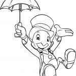 Disney Cartoon Jiminy Coloring Page
